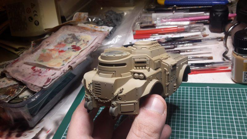 Goliath Rockgrinder - La base