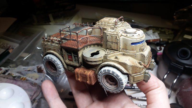 Goliath Rockgrinder - Assemblage des rambardes