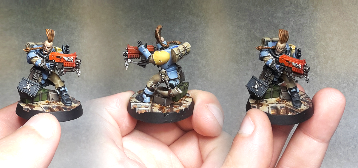 Space Wolves - Scouts Bolter