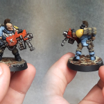 Space Wolves - Scout - Heavy Bolter