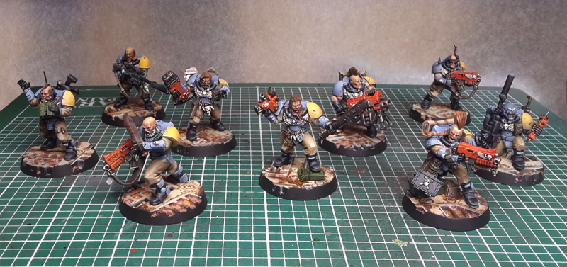 Space Wolves - Scouts