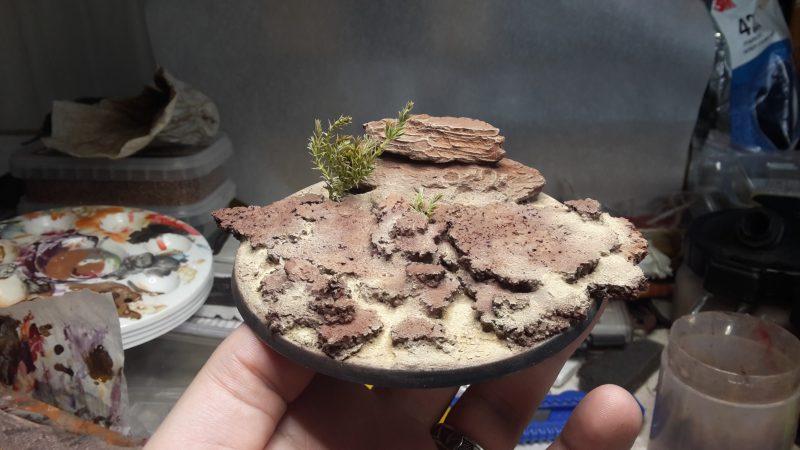 Socle desertique - tuto