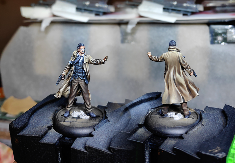 Batman Miniature Game : Commissaire Gordon